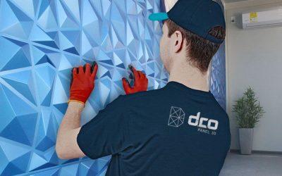 Cómo instalar Paneles decorativos 3D en una pared?