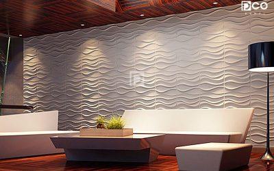 Paneles 3D en Barranquilla, una nueva opción para decorar paredes y techos.